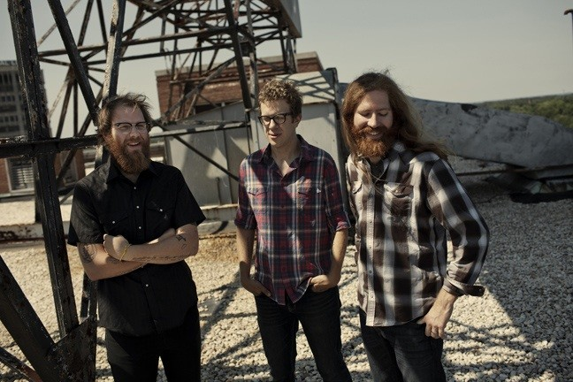 Megafaun; Joe Westerlund, Brad Cook, Phil Cook, photographed in Durham, N.C., June 15, 2011.