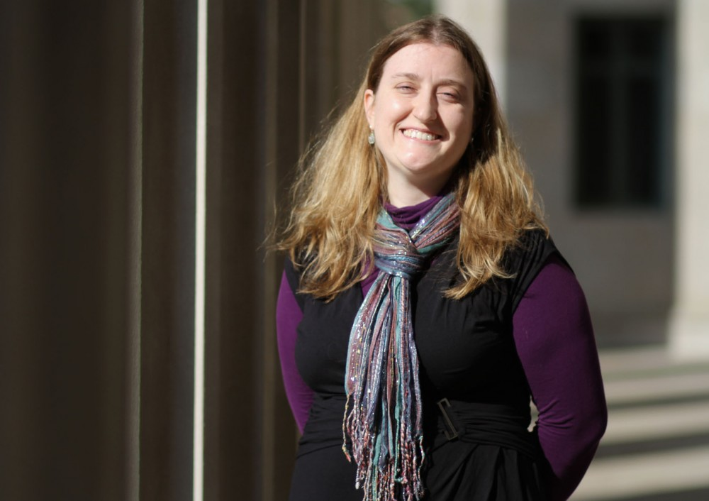 Brittany Edwards, a public policy graduate student at the Humphrey School of Public Affairs, is running unopposed for GAPSA president.