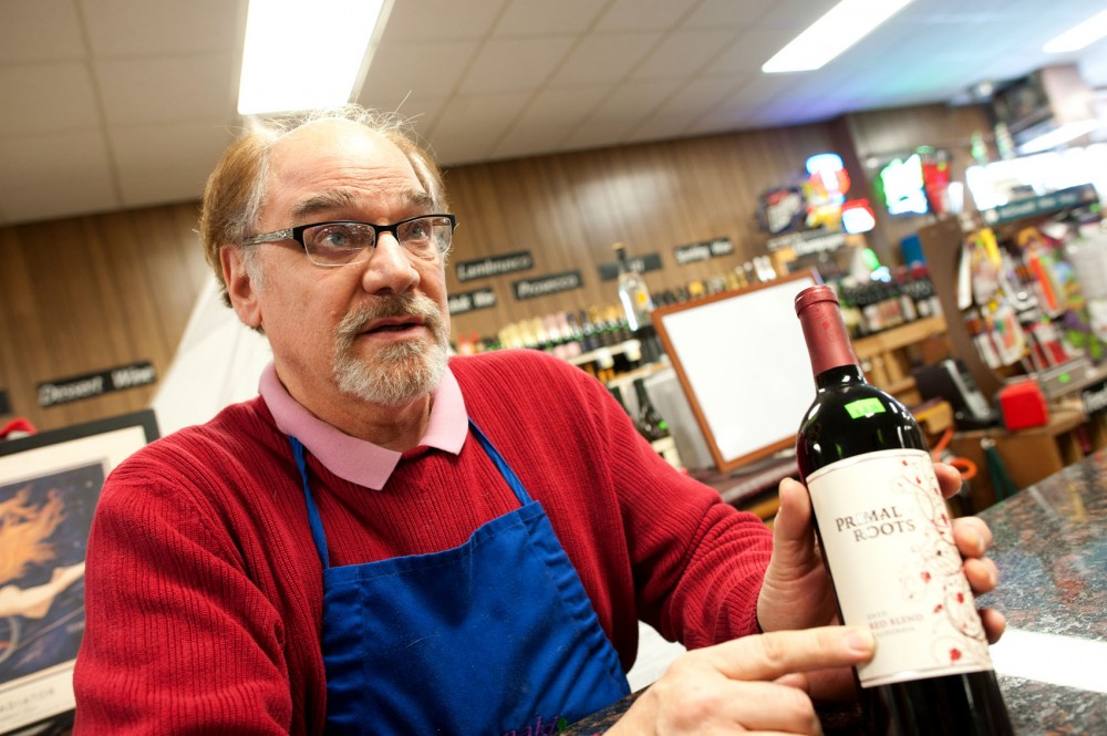 Wine buyer Michael Hennessy talks about how to pick wine Friday at McDonald's Liquor and Wine in Minneapolis.