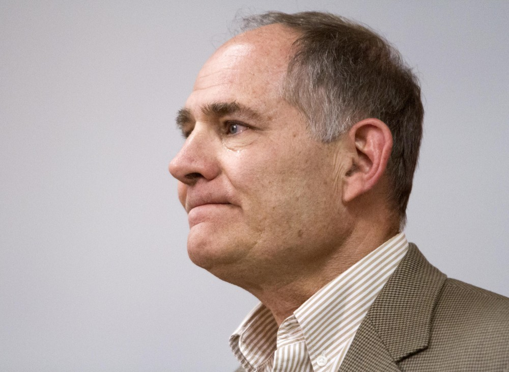 University of Minnesota Athletic Director Joel Maturi gave an emotional speech at a press conference on Friday at the Gibson-Nigurski Football complex discussing recent Minnesota linebacker Gary Tinsleys death.