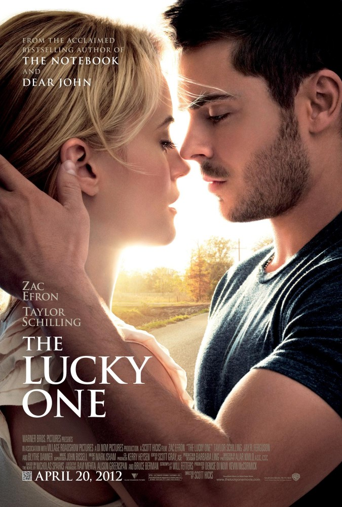 Cutline: Zac Efron and Taylor Schilling star in