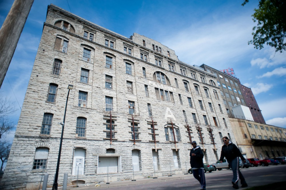 Dominium Co. is seeking grants for the renovation of the historic A-Mill into apartments. The National Historic Landmark, built in 1881, was once at the heart of Minneapolis' milling industry.