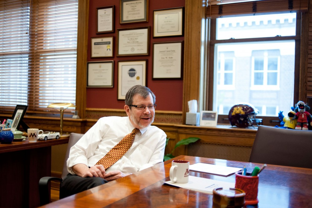 University of Minnesota President Eric Kaler reflected on his first academic year on the job.