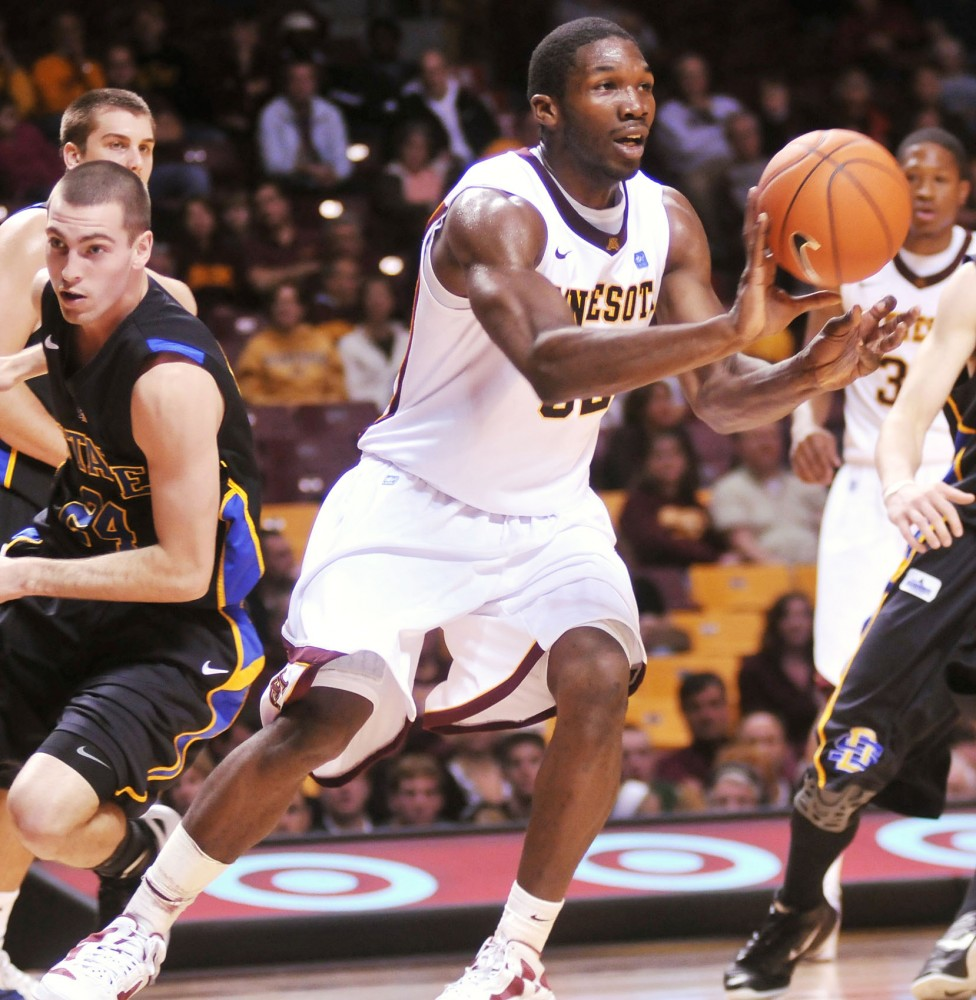 Trevor Mbakwe has yet to announce whether he will return to the Gophers or declare for the NBA draft.  The NBAs deadline is April 29.