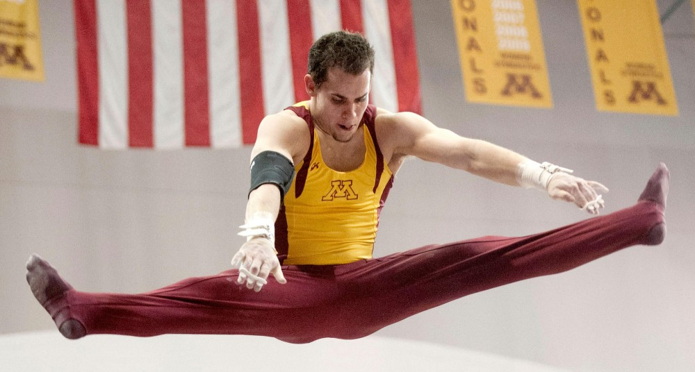 This year's NCAA championships may be senior DJ Repp's last meet of his gymnastics career, at which he will compete in two events. Repp plans to retire after college.