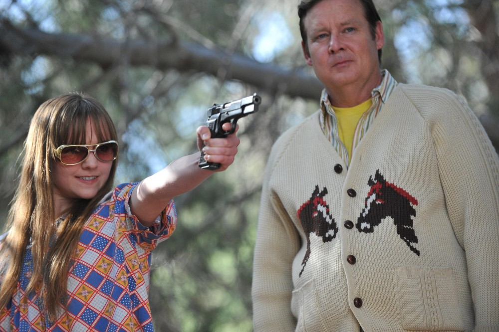 Tara Lynne Barr and Joel Murray star in