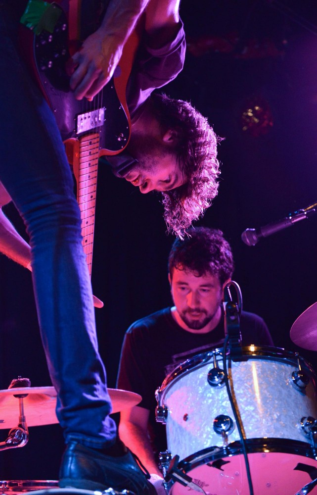 Japandroids perform Tuesday at the 7th Street Entry.