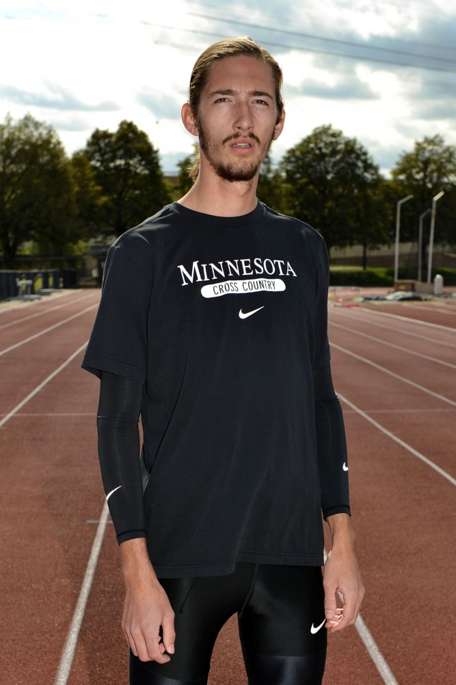 Minnesota cross country runner John Simons transferred to the team after a year at University of Wisconsin-Milwaukee. Now in his second season competing with the Gophers, Simons says his goal is to make the national team.