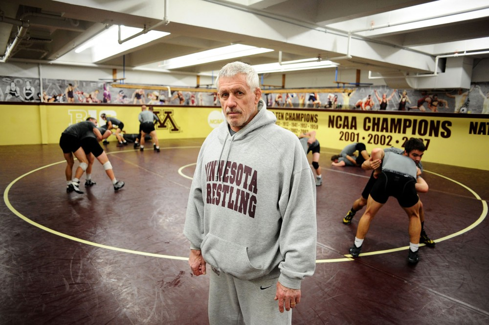 Wrestling head coach J Robinson will be inducted into the M Club Hall of Fame on Thursday. Robinson has been coaching the team for 26 years.