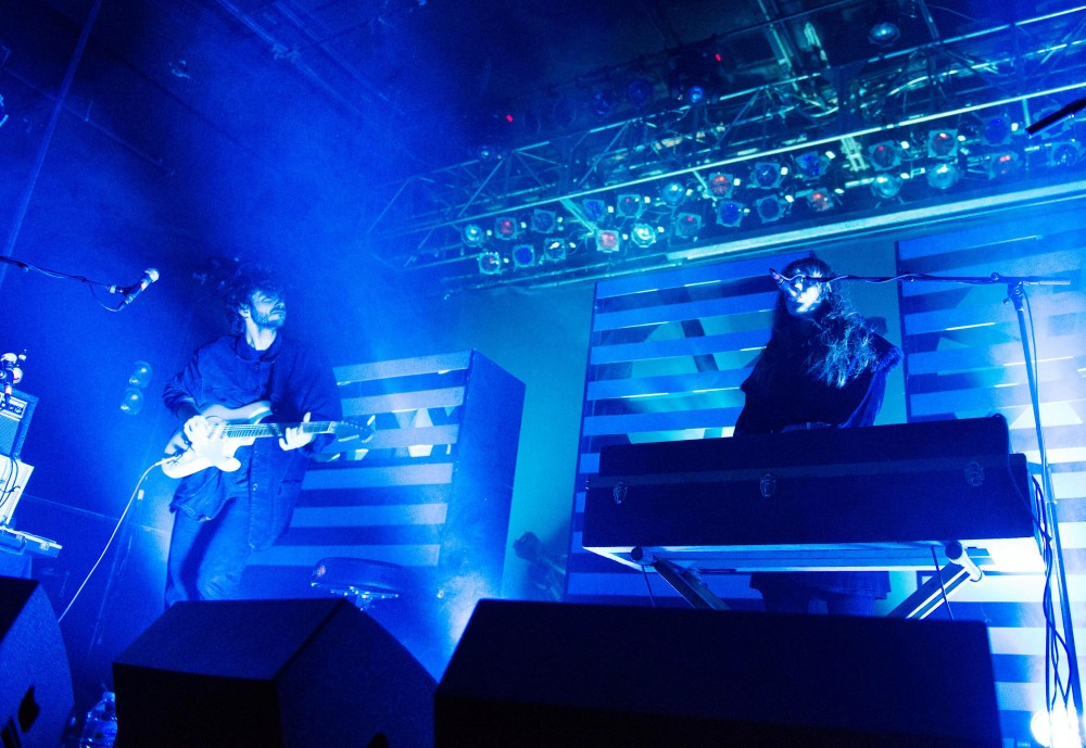 Beach House performs a sold out show at First Avenue on Tuesday night.