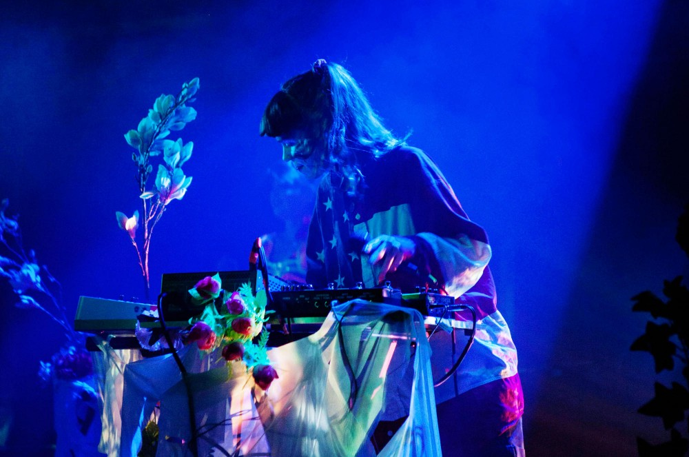 Grimes plays a sold out show at the Varsity Theater Monday night.
