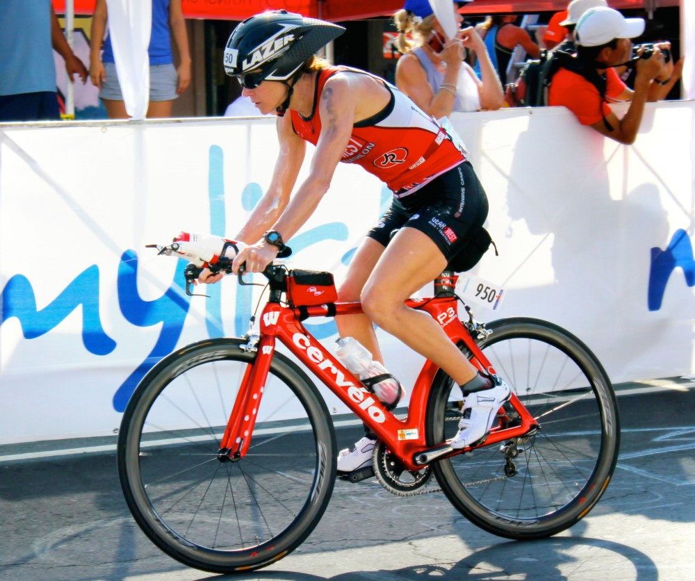 Sue Rubens has completed 15 marathons and 8 Ironmans.