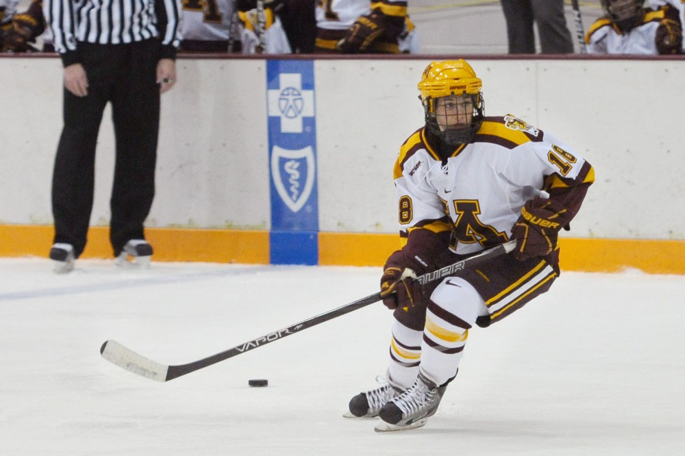 "Minnesota forward Brook Garzone hails from Sand Springs, Okla. Garzone started playing hockey after she saw ""The Mighty Ducks"" on Disney Channel at age 4."