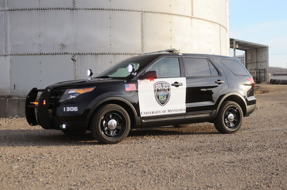 The new University of Minnesota Police Department squad car.