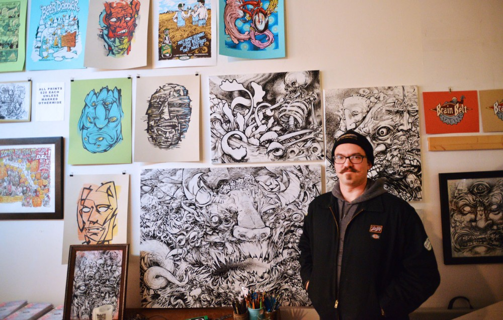Friday is the beginning of 2013's Lowertown First Fridays where illustrator David Witt will be releasing his first hardbound book,