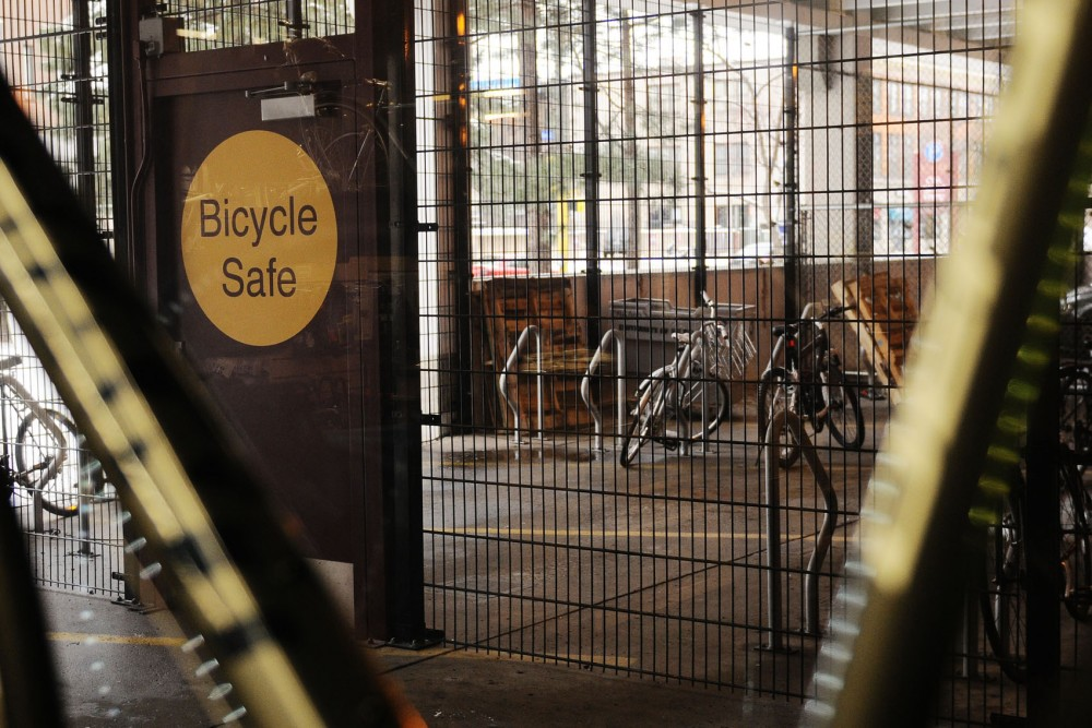 The Hub Bike Co-op on Oak Street Southeast offers member services for those who bike on campus, including showers, lockers and secure bike storage. The Bicycle Advisory Committee recommended the Minneapolis City Council promote amenities for bicyclists to encourage more people to bike to work.