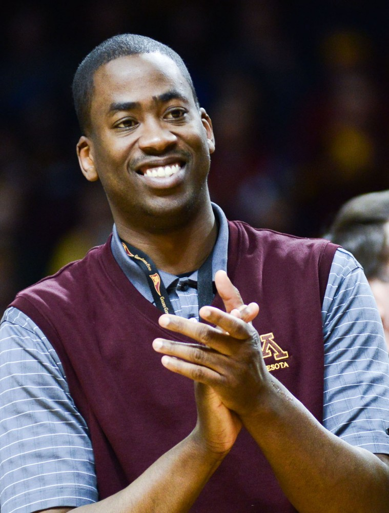 Former Gophers basketball player Quincy Lewis