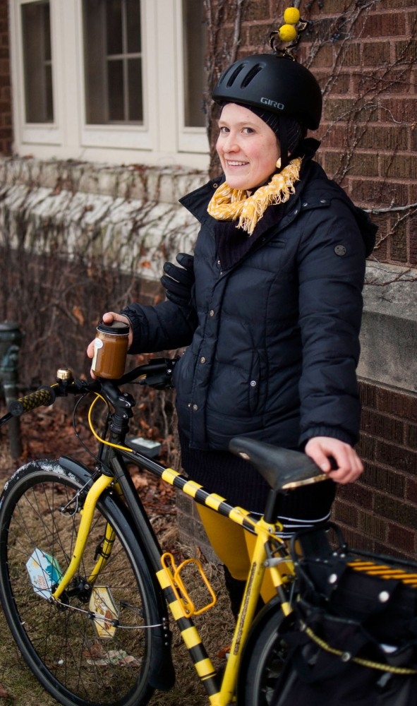 Erin Rupp, co-founder of the Beez Kneez.