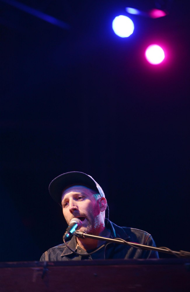 Mat Kearney performs at Spring Jam on Saturday, April 27, 2013.