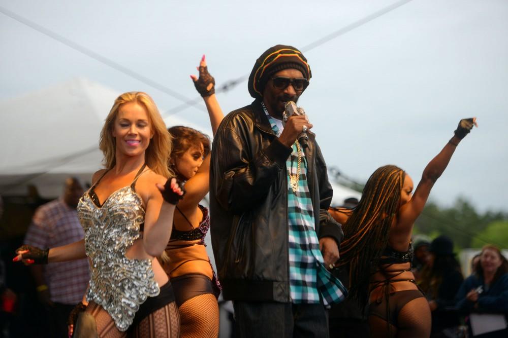 Snoop Dogg performs live at Soundset on Sunday, May 26, 2013, at Canterbury Park.