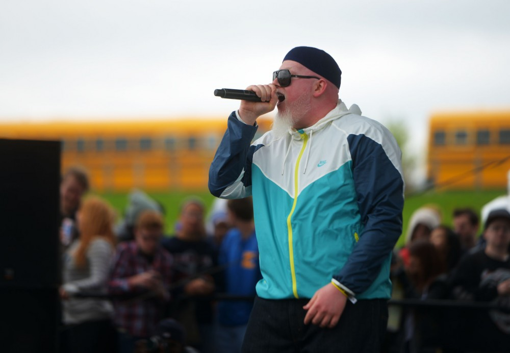 Brother Ali performs live at Soundset on Sunday, May 26, 2013, at Canterbury Park.