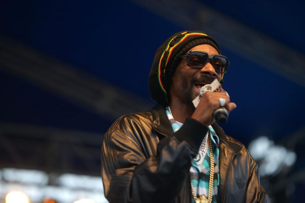 Snoop Dogg performs at Soundset on Sunday, May 26, 2013, at Canterbury Park.
