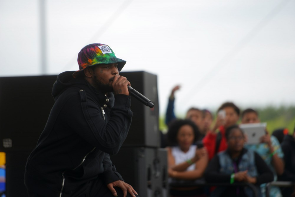 Schoolboy Q performs live at Soundset on Sunday, May 26, 2013, at Canterbury Park.