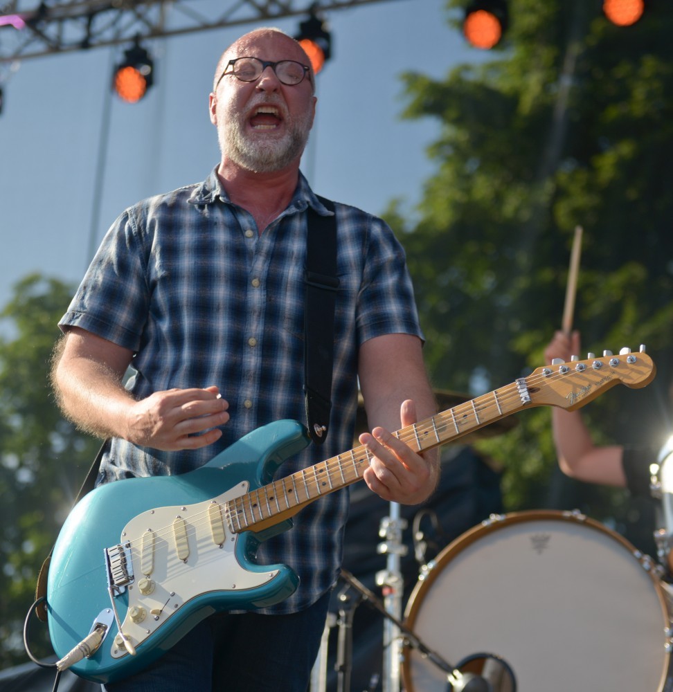 The Bob Mould Band performs live at Rock the Garden on Saturday June 15th, 2013.