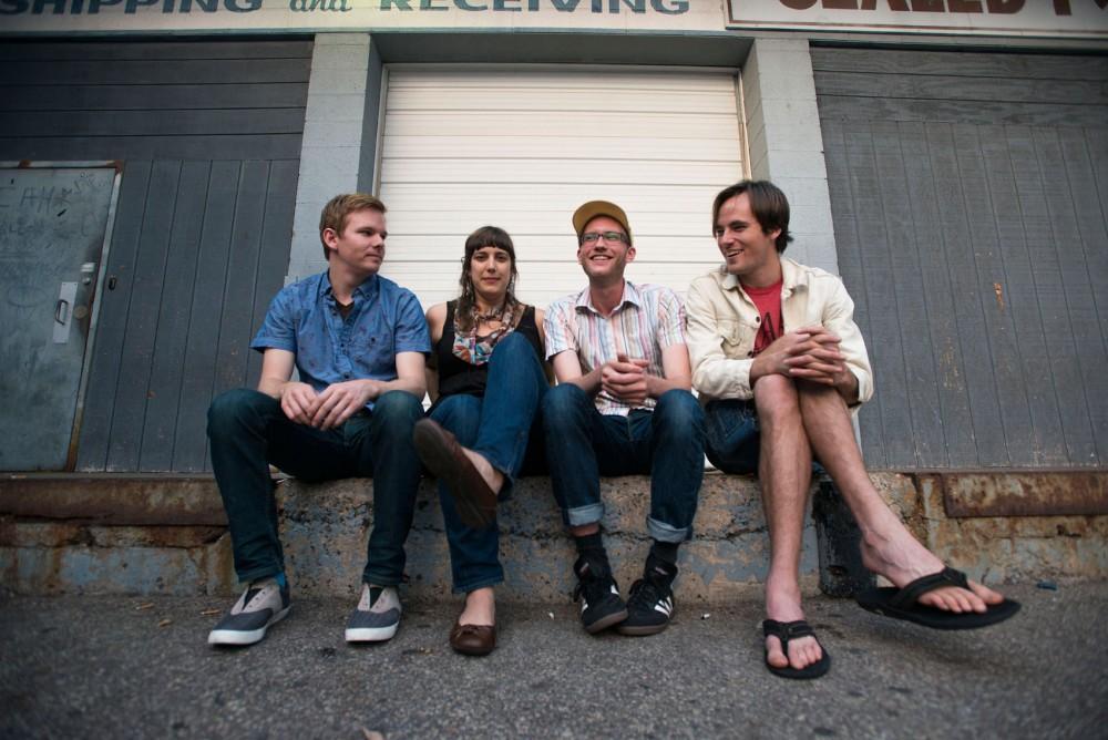 Indie pop band Hot Freaks.