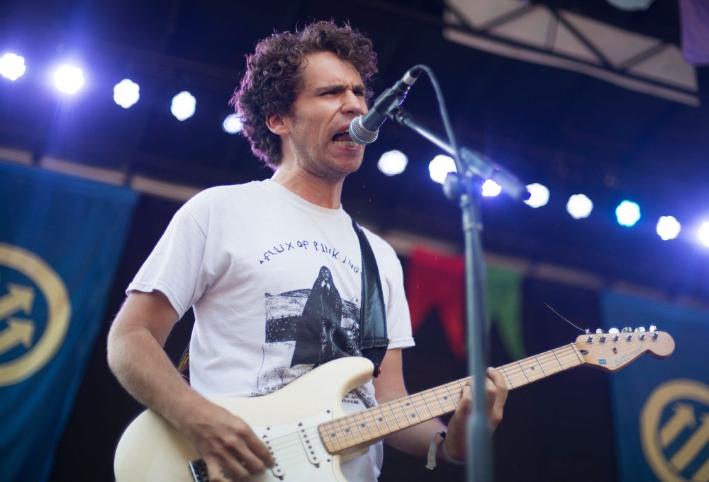Parquet Courts performs Saturday afternoon at Pitchfork Music Festival in Chicago.