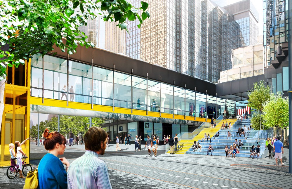 James Corner Field Designs were selected to lead the renovation of Nicollet Mall, the pedestrian and transit corridor running through the heart of downtown Minneapolis.
