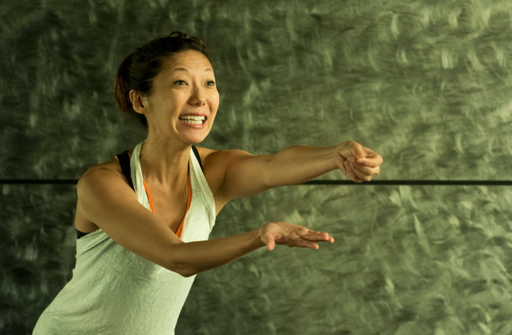 Sun Mee Chomet rehearses for