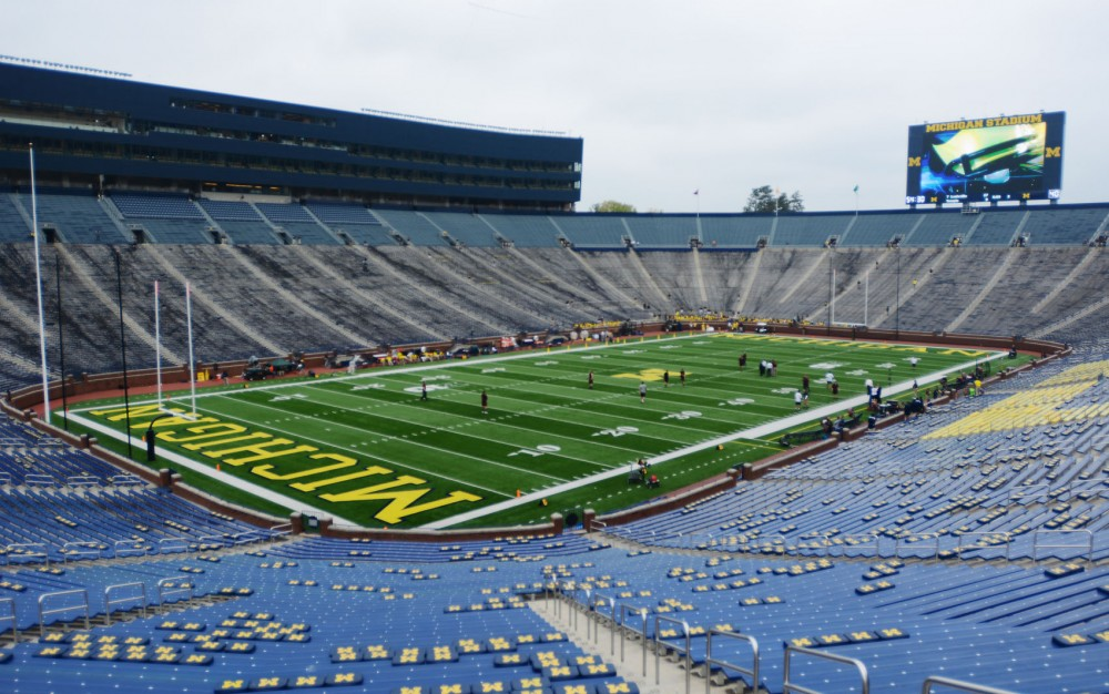 The Minnesota Daily made the trek from Minneapolis, Minn., to Ann Arbor, Mich., last weekend for the game against the University of Michigan. Along the way, stopping at some of the most storied college football stadiums in the Midwest.