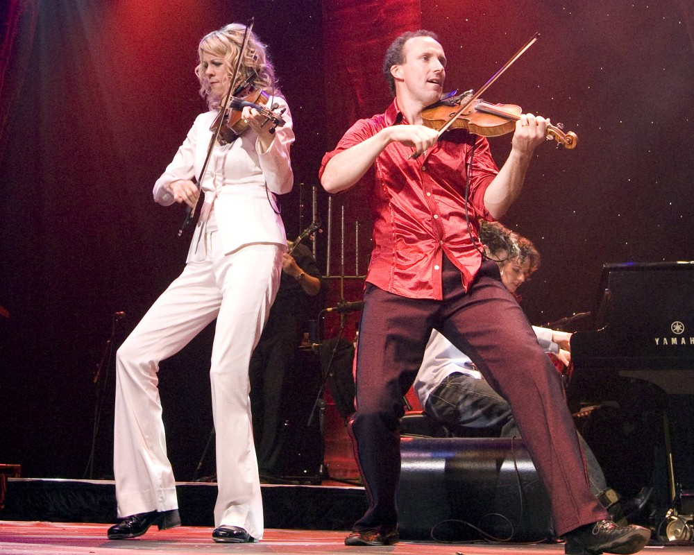 Natalie MacMaster and Donnell Leahy pluck and bow their way through high-energy, dance fueled concerts.