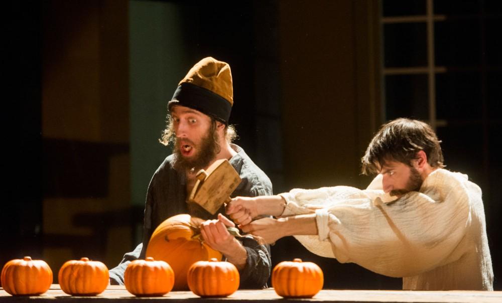 Ross Orenstein and Skyler Nowinski rehearse for