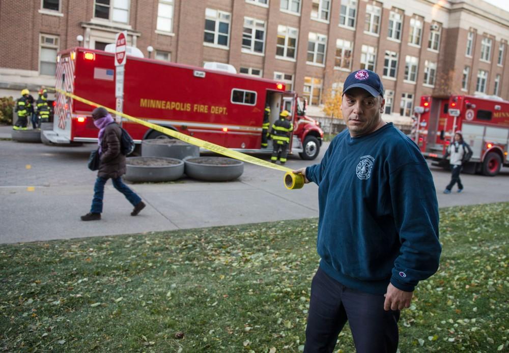 Minneapolis firefighter wraps