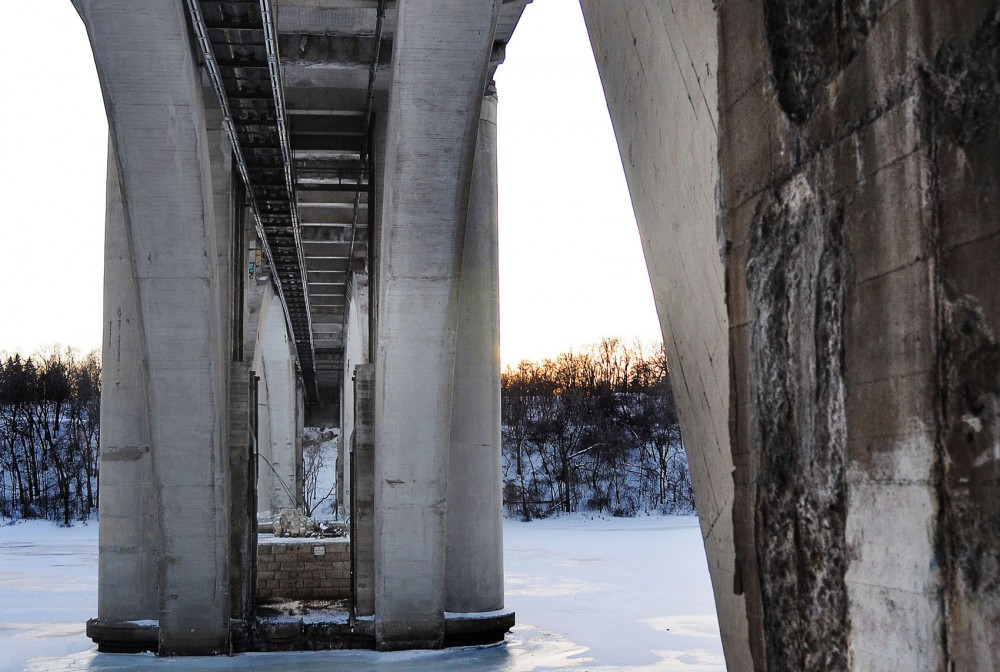 The Franklin Avenue Bridge will be rehabilitated for $28.5 million. The bridge, which was constructed from 1919-23, is considered a local and national historical landmark.