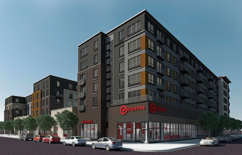 The inaugural TargetExpress will open at the ground floor of the Marshall apartment complex in Dinkytown on July 27.