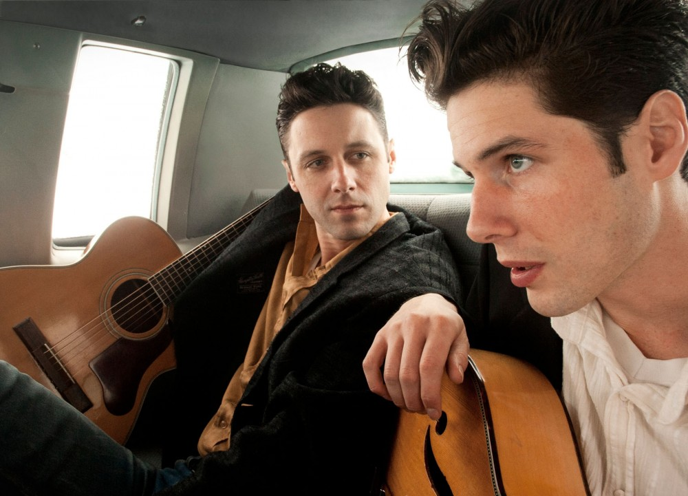 Brothers Page Burkum and Jack Torrey founded the traditional country band The Cactus Blossoms in 2009.