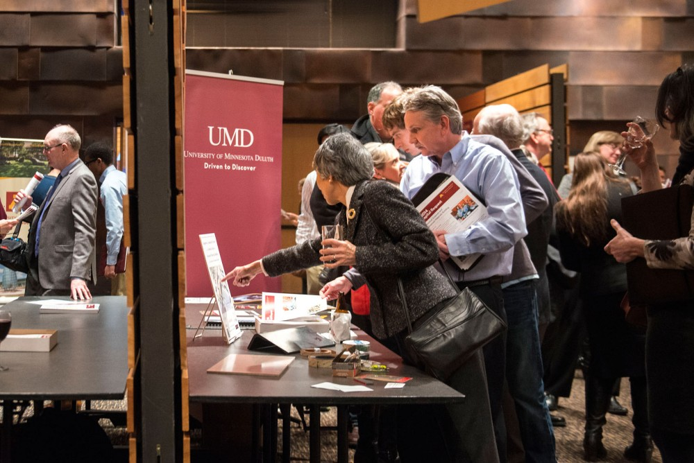 Representatives pitch their capital request and provide information during the University's annual Legislative Briefing, Wednesday at the McNamara Alumni Center.