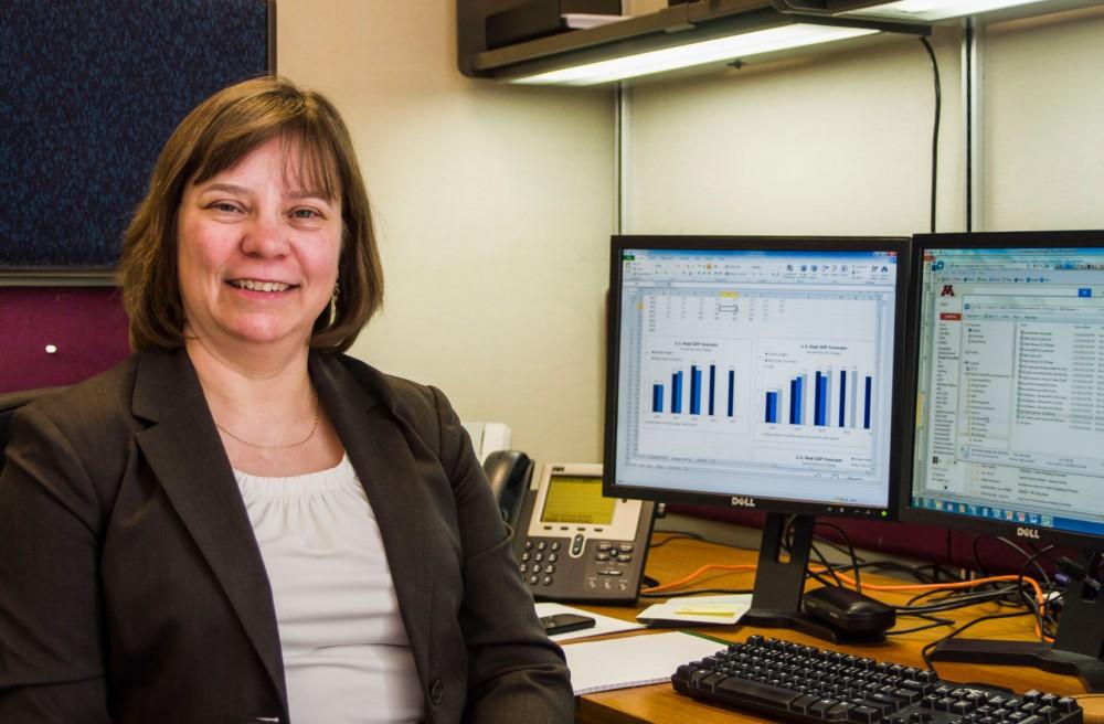 Minnesota state economist and University of Minnesota professor of applied economics Laura Kalambokidis.