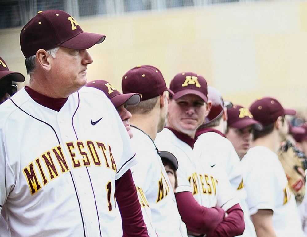 Gophers head coach John Anderson co-authored a book on sports psychology. He has coached Minnesota's baseball team since 1981.