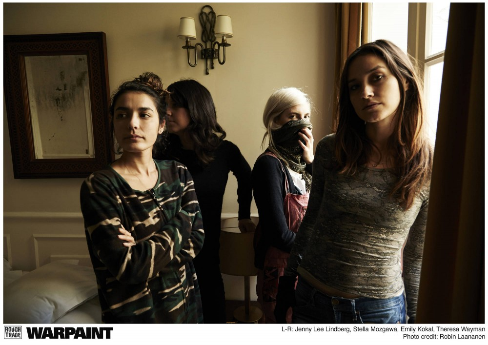 Warpaint weaves together trippy soundscapes and haunting charm.