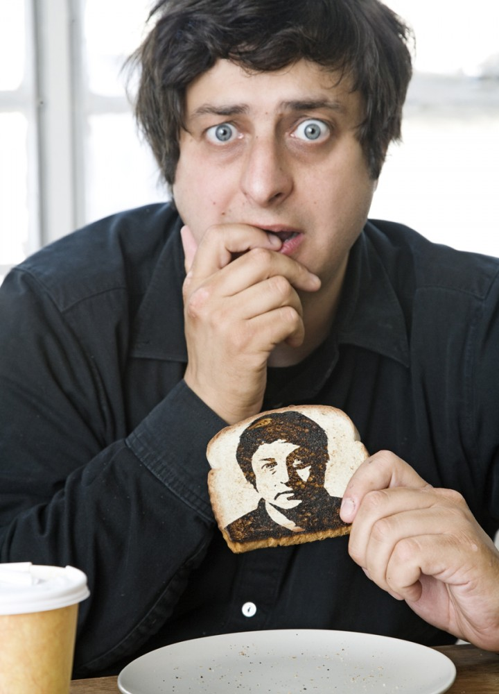 Eugene Mirman's comedy is both crispy AND nutritional!