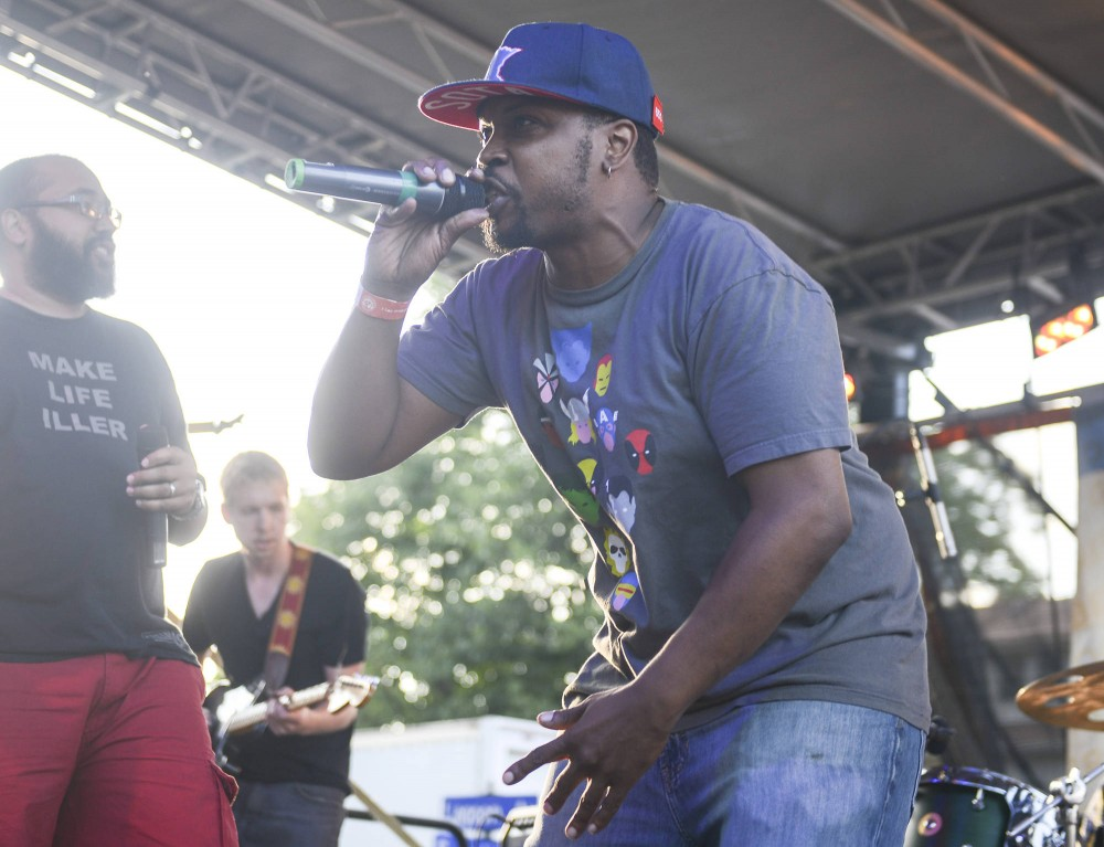 ​Heiruspecs headlined Barbette's Bastille Day Block Party on Sunday. Heiruspecs met and formed at St. Paul's Central High School, an institution they still give back to.