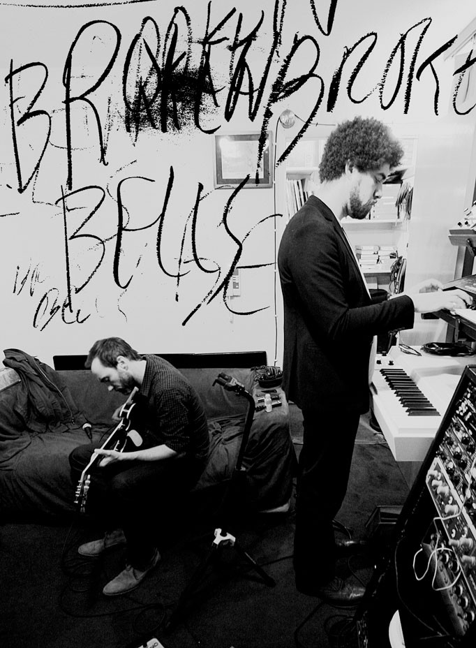 Producer Brian Burton (right), better known as Danger Mouse, and James Mercer (left) are Broken Bells, a savvy electro-rock duo.