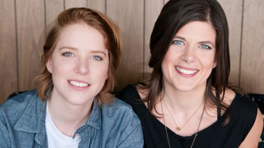 This Is a Book for Parents of Gay Kids authors Dannielle Owens-Reid, left, and Kristin Russo, right.