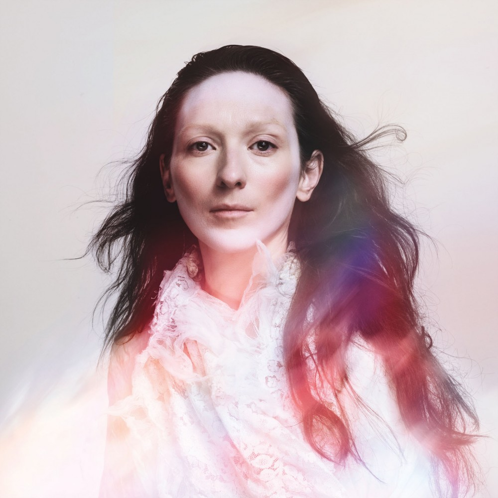 Shara Worden poses for the album cover of My Brightest Diamond's fourth album,