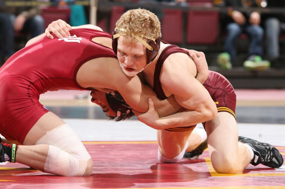 Minnesota sophomore Sam Brancale