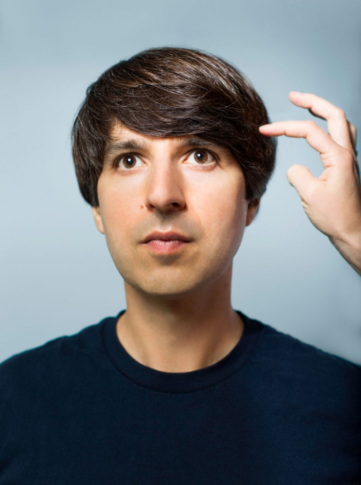 Comedian and palindrome-lover Demetri Martin is performing his new special,